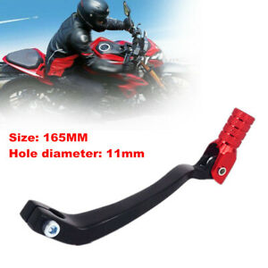 165MM Motorcycle Foldable Gear Lever Foot Kick Starter Pedal For 250 110 150 CC