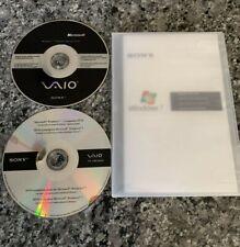 Sony VAIO Microsoft Windows 7 ULTIMATE Upgrade DVD Companion 32 64 Bit
