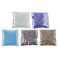 1200Pcs 2mm blue Round Czech Glass Seed Spacer Loose Beads Jewelry DIY Maki Z1S2