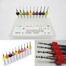 10Pcs PCB Print Circuit Board Carbide Micro Drill Bits Tools 0.3mm to 1.2 mm Kit