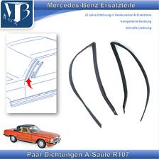 Mercedes-Benz W107 R107 280-560SL Paar Dichtungen an der A-Säule rechts & links