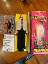 Vintage 1970s Kenner Six Million Dollar Man Maskatron Figure Complete Boxed