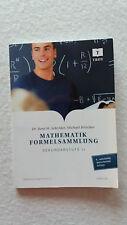 Mathematik Formelsammlung Sekundarstufe ll Dr. René M. Schröder Michael Böt