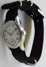 1940 Omega Manual Wind Watch Ω26.5 SOBT2 Sweden Military WW2 - Rare watch