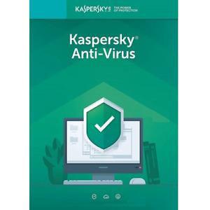Kaspersky Anti-Virus 2021 - 1-Year 3-PC - GLOBAL Key - Windows - Brand New Key