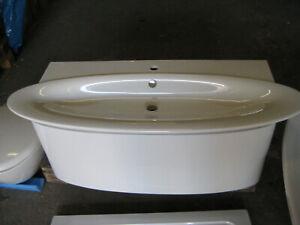 Waschtisch 130 cm inkl. Unterschrank Serie Presquile, Artikelnr.4122K-00 NEU