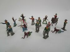 Cowboy Indians Toy Figurines Lot Made in England
