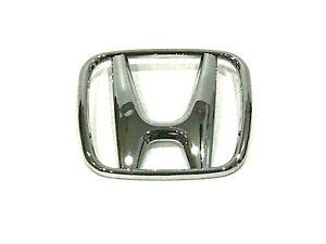 """1 Pcs, Honda Front Grille H Badge Emblem 4-7/8"""" x 4"""", #75700-S9A-G00 Accord CRV"""