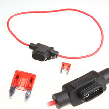 Waterproof Power Socket Mini Blade Type in Line Car Boat Holders With 10a Fuse