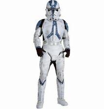 Clone Trooper Star Wars Movie Soldier Fancy Dress Halloween Deluxe Child Costume