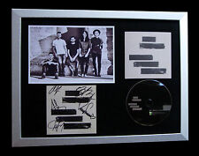 MAYDAY PARADE+SIGNED+FRAMED+BLACK LINES+STAY=100% AUTHENTIC+EXPRESS GLOBAL SHIP