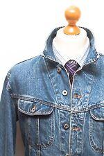 Dolce & Gabbana XXL denim jacket coat 44