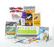 My Keto Snack Box - 20 Snacks - Keto Low Carb Food - Ketogenic - Starter Kit