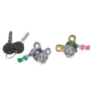 NEW DOOR LOCKS LH RH PAIR 2 PIECES Fit 2000-2007 NISSAN X-TRAIL T30 NT30 MK1 RV