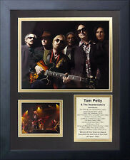 11x14 FRAMED TOM PETTY AND THE HEARTBREAKERS ALBUM LIST 8X10 PHOTO
