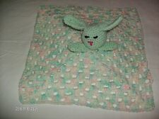 Brand new crochet baby bunny snuggly