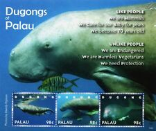 Dugongs of Palau (Sea Cows / Mammals) Endangered Species Stamp Sheet (2010)