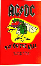 AC / DC FLY ON THE WALL TOUR 1985 -  POSTER  scarce