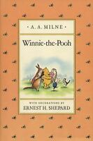 Winnie-The-Pooh (pooh Original Edition): By A. A. Milne