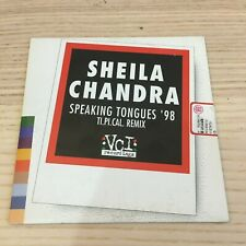 Sheila Chandra - Speaking Tongues remix - CD Single PROMO _ 1997 Vci Italy RARE