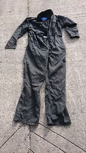 Ladies Or Mens Faulty Use Black Colour Boilersuit Or Overalls.
