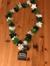 Michael Collins Irish Whiskey Flower Lei Necklace  NEW! FREE shipping!