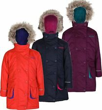 Regatta Girls Trapeze Parka Waterproof Insulated Multi Colours