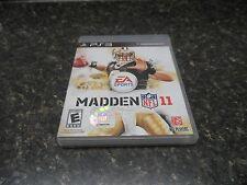 Madden NFL 11 (Sony PlayStation 3, 2010) {48074-1} (berwyn)