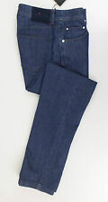 NWT KITON NAPOLI Blue Denim Cotton Blend Slim Jeans Pants Size 48/32 $950