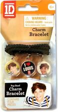 One Direction Louis Charm Bracelet Unisex Accessories Brand New Gift