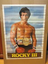 Rocky lll 1982 Balboa ORIGINAL Vintage Poster 10316