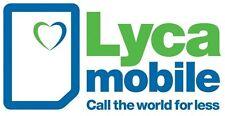 Lycamobile Pay As You Go Nano SIM Card + spedizione gratuita