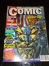 COMIC WORLD / COLLECTOR - No 15 - Date 05/1993 - UK Comic Magazine