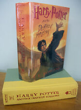 Harry Potter and the Deathly Hallows by J. K. Rowling, 2007 1st Printing in DJ