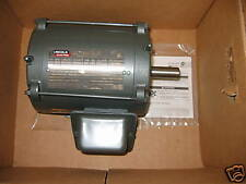 NEW LEESON LM15995/LM24116 1 HP 1800 RPM ODP MOTOR