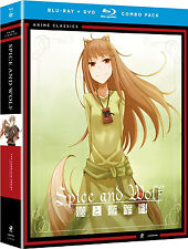 Brand New! Spice & Wolf: Complete Series Blu-ray, DVD Combo Season 1 and 2 anime