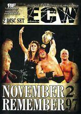 ECW November to Remember 1997 WWE WWF WCW AEW Raven Sandman Paul Heyman Sunny