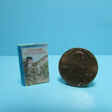 Dollhouse Miniature Hardy Boys The Mark on the Door Book Printed Pages TIN3013
