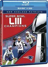 NFL SUPER BOWL LIII new england patriots (BLU RAY) Region free