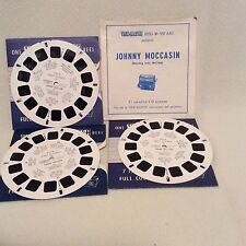 VIEWMASTER 3 REELS JOHNNY MOCCASIN