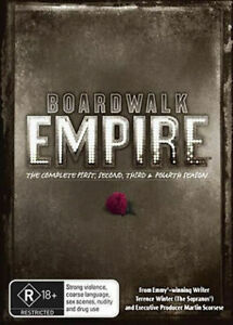 Boardwalk Empire : Season 1-4 (DVD (19-Disc Set) Packed with Bonus Features! NEW