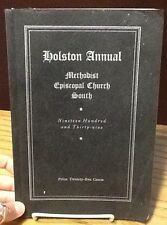 Holston Annual: Methodist Episcopal Church South - 1939 - Free Shipping