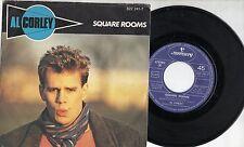AL CORLEY disco 45 giri MADE in ITALY Square rooms STAMPA ITALIANA 1984