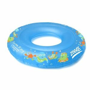 Zoggs 302216 Zoggy Swim Ring blue LEARN TO SWIM inflatable SPECIAL NEEDS 2-3 yrs