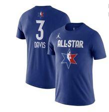 Anthony Davis 2020 NBA All Star Jordan Youth Size Medium Dri Fit T-Shirt