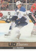2013-14 Upper Deck Hockey Canvas #C175 David Backes St. Louis Blues