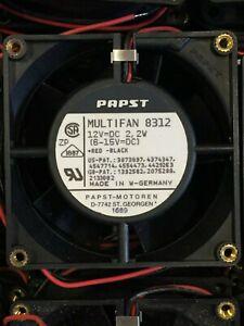 Papst Multifan 8312 80mm 12v DC 12 volt  Genuin 8cm fan Computer PC Original