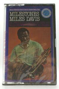 MILES DAVIS Milestones PROMO Cassette NEW/SEALED 1988