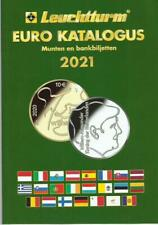 Katalogus 2021/Catalogue 2021 Fr/Engli- Euro-munten/biljetten vanaf 1999-NIEUW!