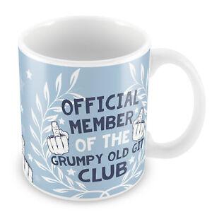 Grumpy Old Git Novelty Rude Mug Gift For Dad Grandad Uncle Funny Ceramic Mug